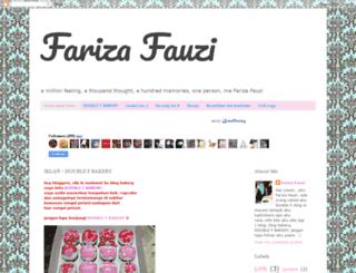 farizafauziblog.blogspot.com screenshot