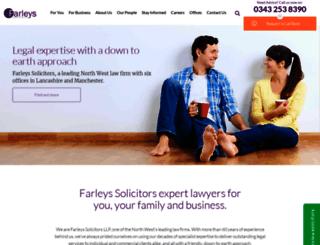 farleys.com screenshot