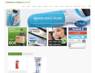 farmaciamuybarataonline.com screenshot