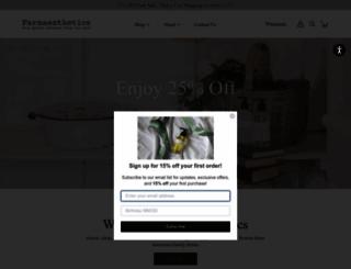 farmaesthetics.com screenshot