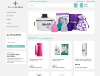 farmanaweb.com.br screenshot