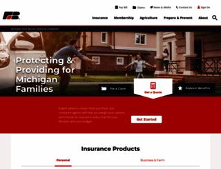 farmbureauinsurance-mi.com screenshot