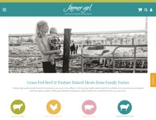 farmergirlmeats.com screenshot