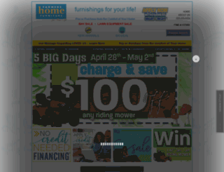 farmershomefurniture.com screenshot