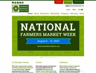 farmersmarketcoalition.org screenshot
