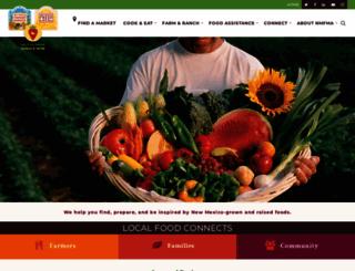 farmersmarketsnm.org screenshot