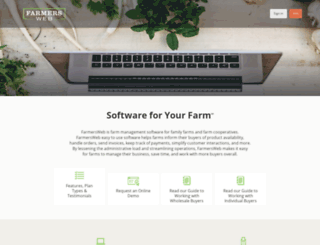 farmersweb.com screenshot
