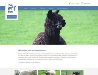 farmfunstaynz.co.nz screenshot