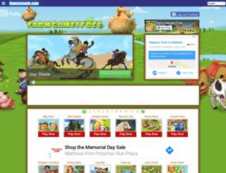 farmgamesfree.com screenshot