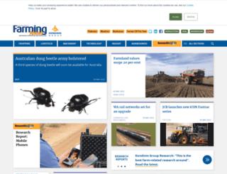 farmingahead.com.au screenshot