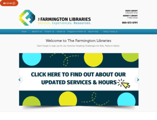 farmingtonlibraries.org screenshot