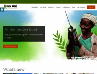 farmradio.org screenshot