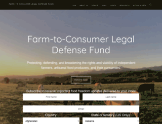 farmtoconsumer.net screenshot