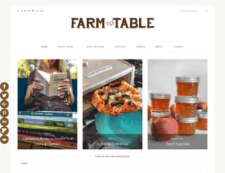 farmtotablela.com screenshot