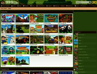 farmy.1001hry.cz screenshot