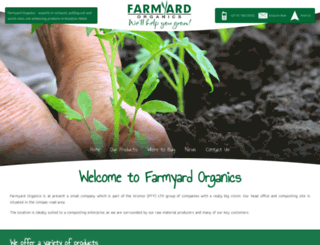 farmyardorganics.co.za screenshot