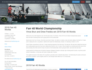 farr40worlds.com screenshot