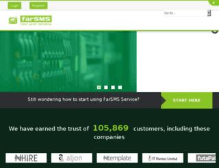 farsms.com screenshot