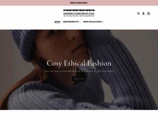 fashion-conscience.com screenshot