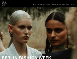 fashion-week-berlin.com screenshot