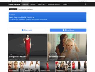 fashionandwomen.org screenshot