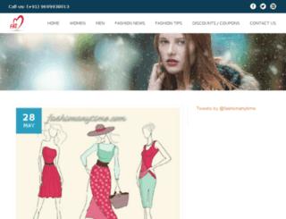 fashionanytime.com screenshot