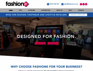 fashione.co.uk screenshot
