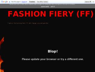 fashionfiery.blogspot.co.uk screenshot