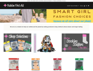 fashionfirstaid.com screenshot
