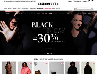 fashiongroup.com.mk screenshot