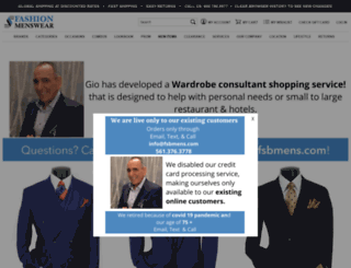 fashionmenswear.com screenshot