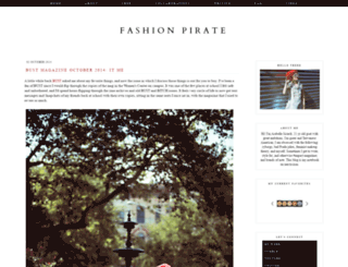 fashionpirates.blogspot.com screenshot