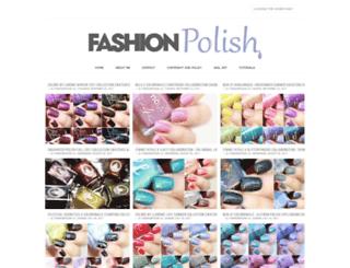 fashionpolish.com screenshot