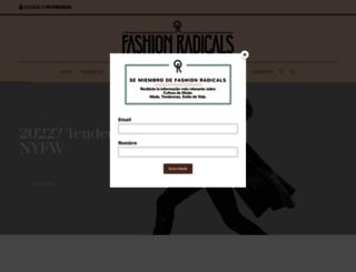 fashionradicals.com screenshot