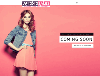 fashionsales.org screenshot