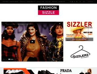 fashionsizzle.com screenshot