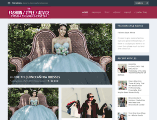 fashionstyleadvice.com screenshot