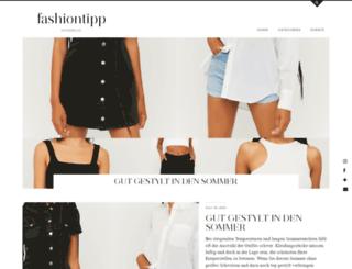 fashiontipp.com screenshot