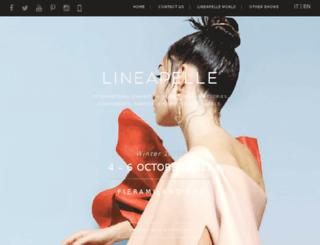 fashionwarriors.lineapelle-fair.it screenshot