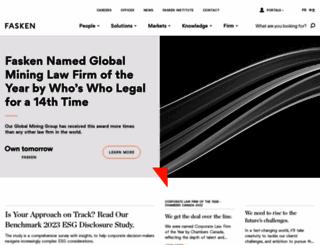fasken.com screenshot
