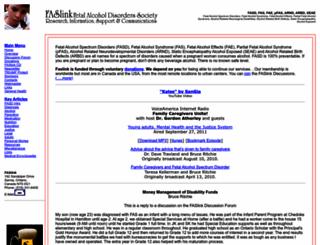 faslink.org screenshot