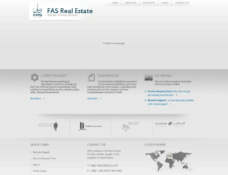 fasrealestate.com screenshot