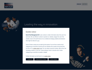 fast-fluid.com screenshot
