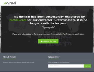 fast.1proxy.de screenshot