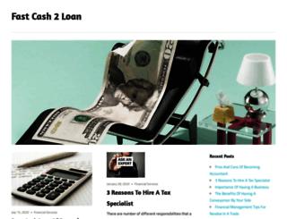 fastcash2loan.com screenshot