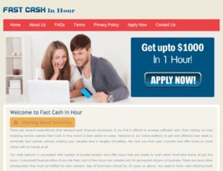 fastcashinhour.com.au screenshot