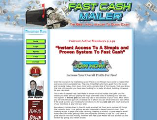 fastcashmailer.com screenshot