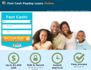 fastcashpaydayloanonline.com screenshot