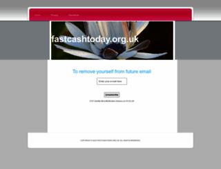 fastcashtoday.org.uk screenshot