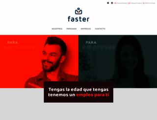 faster.es screenshot